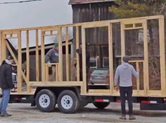 Behind the scenes at Tiny House Construction Company